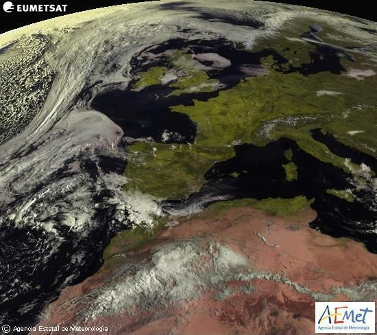 Satelite AEMET visible