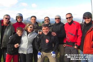 01/12/2012 Tolo, Xavi, María, Victor, Beja, Juan, Toni, Jason, Santi O.