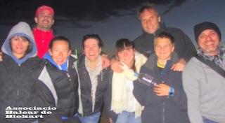 01/04/2013 Amando, Jaime, Alex, Aina, Sonia, Cris, Alex, Carol, Antonia i Miquel