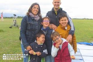 06/04/2013 Rafel, Laura, Xesc, Marc, Miquel y Adriá