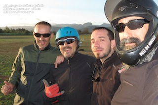 12/11/2013 Manolo, Juan, Andreu, Santi O.