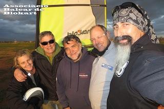 28/12/2013 Xavi, María, Beja, Jason, Santi O.